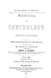 Manual of Conchology: Structural and Systematic. With Illustrations of the Species. First series, Volume 2; Volume 9