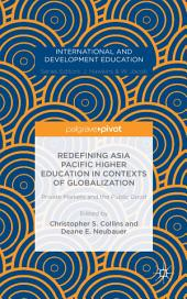 Redefining Asia Pacific Higher Education in Contexts of Globalization: Private Markets and the Public Good