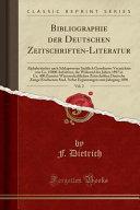 Bibliographie der Deutschen Zeitschriften Literatur  Vol  2 PDF