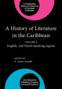 A History of Literature in the Caribbean: English- and Dutch-speaking countries