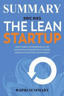 Summary of the Lean Startup PDF