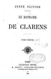Le batelier de Clarens: Volume1