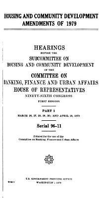 Hearings  Reports and Prints of the House Committee on Banking  Currency  and Housing