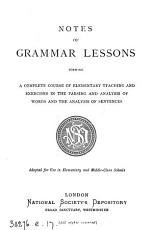 Notes of grammar lessons PDF
