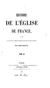 Histoire de l'Église de France: Volumes11à12