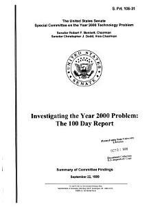 Investigating the Year 2000 Problem PDF