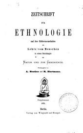 Beiträge zur Ethnologie und darauf begründete Studien