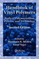 Handbook of Vinyl Polymers PDF