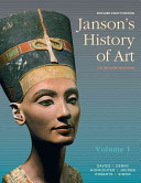 Janson s History of Art  Volume 1 Reissued Edition Book
