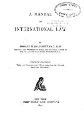 A Manual of International Law
