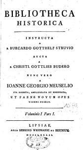 Bibliotheca historica: Volume 1