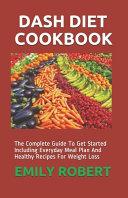 Dash Diet Cookbook PDF