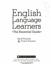 English Language Learners PDF