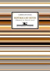 República de viento: Antología poética
