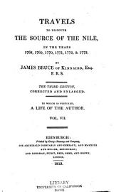 Travels to Discover the Source of the Nile: In the Years 1768, 1769, 1770, 1771, 1772, & 1773, Volume 7