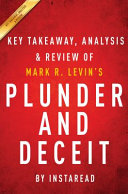 Summary Of Plunder And Deceit Book PDF