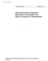 Estimating microorganism densities in aerosols from spray irrigation of wastewater