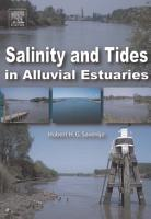 Salinity and Tides in Alluvial Estuaries PDF