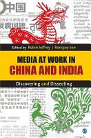 Media at Work in China and India PDF