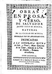 Obras en Prosa y Verso de Salvador Jacinto Polo de Medina