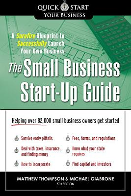 The Small Business Start Up Guide PDF