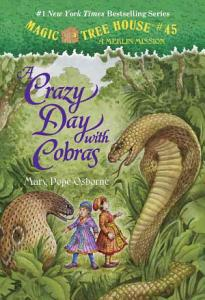A Crazy Day With Cobras Book