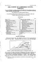 Soil Survey  of  Albemarle County  Virginia PDF