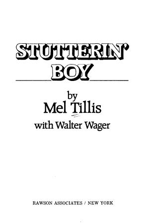 Stutterin' Boy