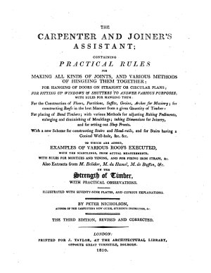The Carpenter and Joiner s Assistant