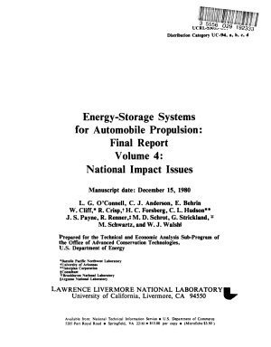 Energy Storage Systems for Automobile Propulsion