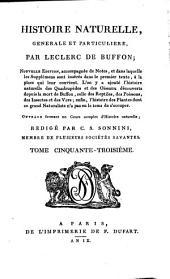 Histoire naturelle, générale et particulière: Volume17;Volume53