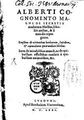 De Secretis mulierum libellus