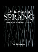 The Techniques of Sprang PDF