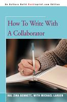How to Write with a Collaborator PDF