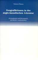 Geografiktionen in der anglo kanadischen Literatur PDF
