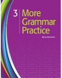 More Grammar Practice 3 PDF