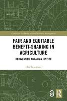 Fair and Equitable Benefit Sharing in Agriculture  Open Access  PDF