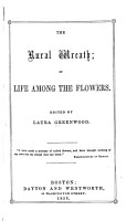 The Rural Wreath  Or  Life Among the Flowers PDF