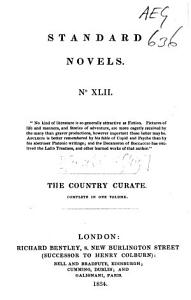 The Country Curate Book