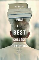 What the Best College Teachers Do PDF