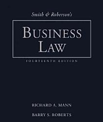 Smith And Roberson S Business Law Book PDF