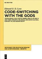 Code switching with the Gods PDF