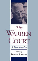 The Warren Court: A Retrospective