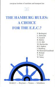 The Hamburg Rules Book