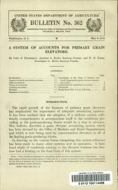 A System of Accounts for Primary Grain Elevators