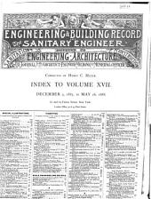 The Engineering Record, Building Record and Sanitary Engineer: Volume 17