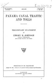 Panama Canal Traffic and Tolls