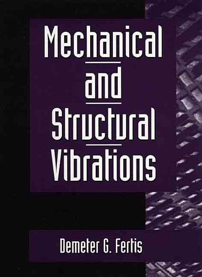 Mechanical and Structural Vibrations PDF
