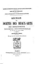 Réunion des sociétés des beaux-arts des départements ...: Volume18