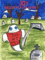 Joy, soccer player ghost